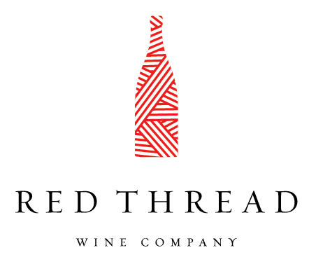 red thread wine company logo